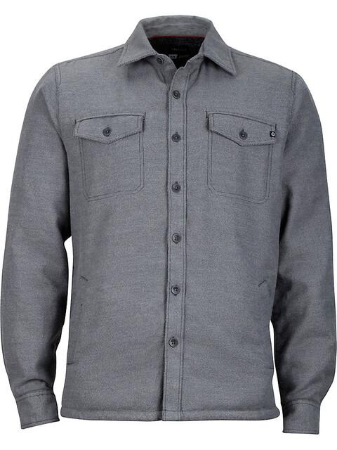 Marmot M's Ridgefield LS Shirt Slate Grey
